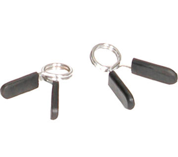 """Troy Barbell 1"""" EZ-on Spring Collar with Rubber Grip"""